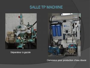 Séparateur à gazole et osmoseur pour production d'eau douce