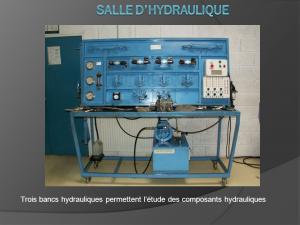 banc-hydraulique