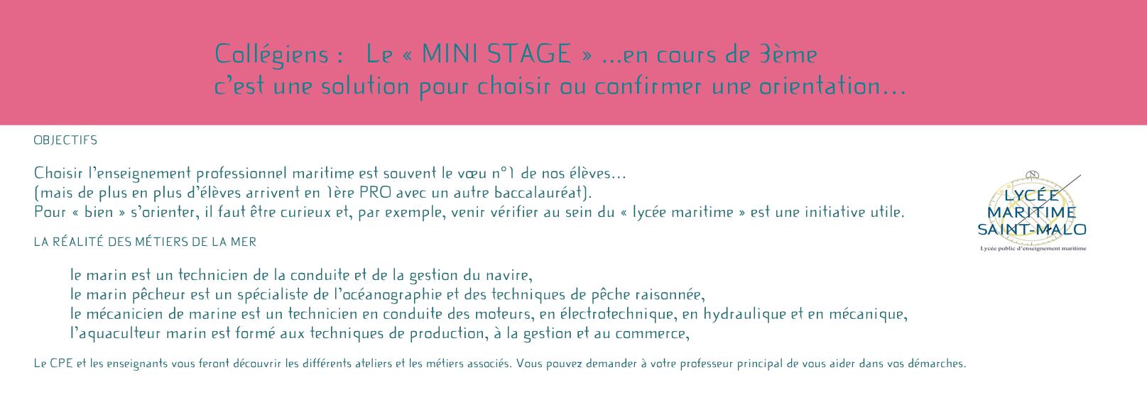 Stage orientation AFFELNET