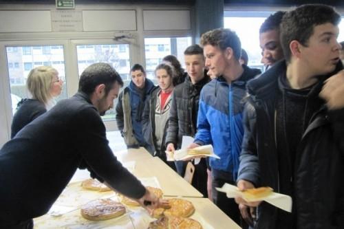 La galette des rois du Lycée Maritime