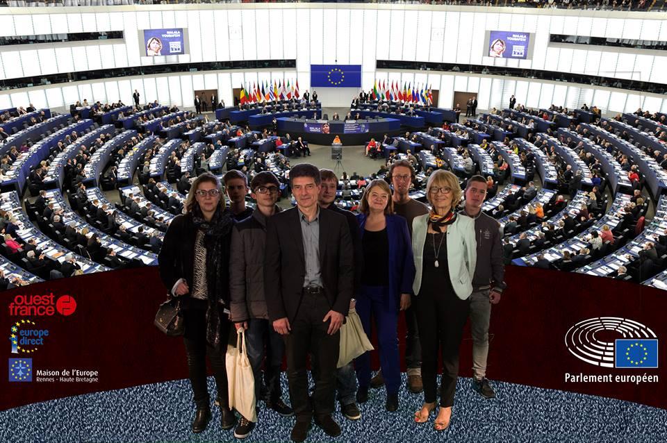 Les 1ères Cultures Marines rencontrent 4 eurodéputés à Rennes