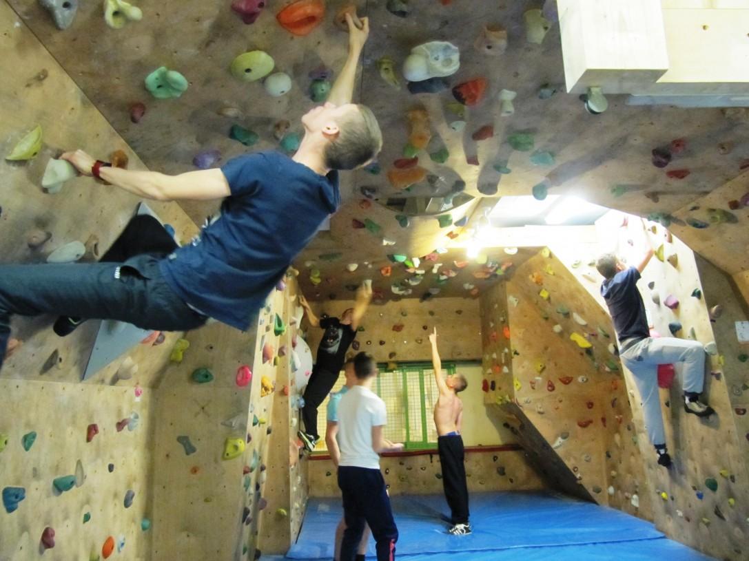 Ca grimpe pour les élèves de CAP Matelot !
