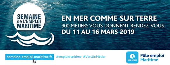 Semaine de l'emploi Maritime du 11 au 16 mars 2019